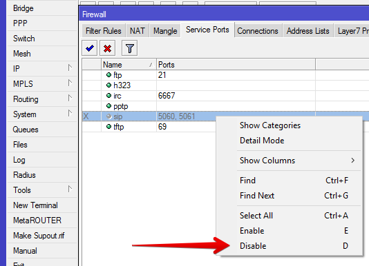 How to Disable SIP ALG on a Mikrotik SUPPORT AND HELP PORTAL