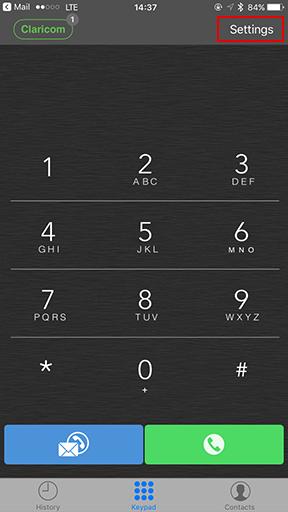 Vantact Softphone app